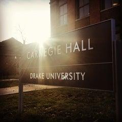 Photo taken at Drake University by Oliver H. on 11/1/2012