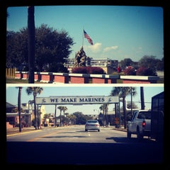 Photo taken at Parris Island, SC by Ashley Marie R. on 2/6/2013