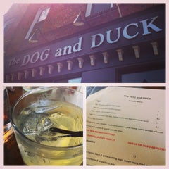 Photo taken at The Dog and Duck by Shiseido R. on 3/10/2013