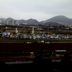 Photo taken at Hipódromo de Monterrico by Giusseppe C. on 11/4/2012