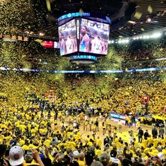 Photo taken at Oracle Arena by Greg W. on 5/3/2013