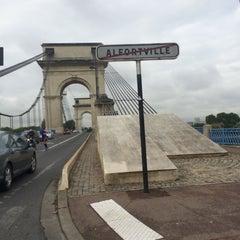 Photo taken at Pont du Port à l'Anglais by Pierre-Yves M. on 8/27/2014
