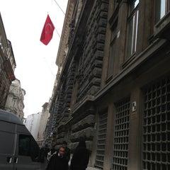 Photo taken at Bankalar Caddesi by Cemil C. on 2/11/2013