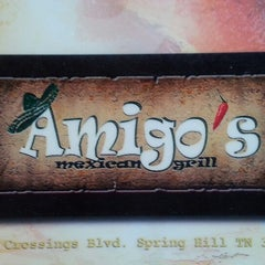 Photo taken at Amigo's Mexican Grill by Brad J. on 9/19/2013