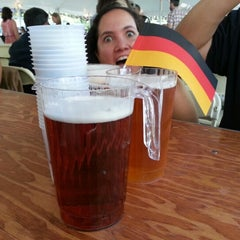 Photo taken at Oktoberfest In Central Park by Janeen B. on 9/15/2012