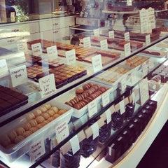 Photo taken at Ginger Elizabeth Chocolates by Shan on 6/5/2013
