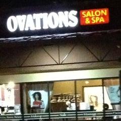 Photo taken at Ovations Salon & Spa by Amy J. on 1/18/2013