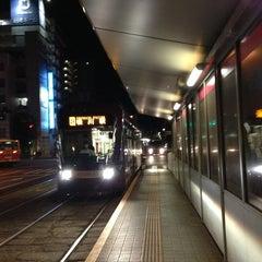 Photo taken at 広島電鉄 寺町電停 (Tera-machi Sta.) (Y2) by Masanori S. on 6/12/2013