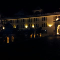 Photo taken at Sheraton Udaipur Palace Resort & Spa by Dhiraj C. on 12/15/2013