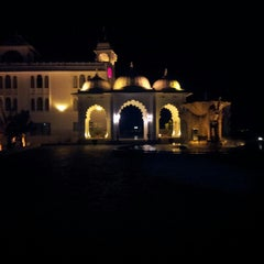 Photo taken at Sheraton Udaipur Palace Resort & Spa by Dhiraj C. on 12/16/2013