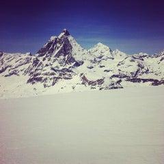 Photo taken at Matterhorn Glacier Paradise by Bogdan T. on 4/14/2013