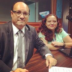 Photo taken at Rádio Bandeirantes 820 AM by Edilberto D. on 10/10/2013
