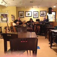 Photo taken at Cornerstone Coffeehouse by Emily M. on 1/12/2014
