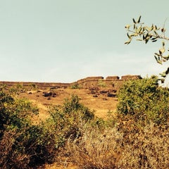 Photo taken at Chapora Fort by Sanjay S. on 12/8/2013