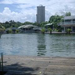 Photo taken at Atracciones El Lago by Ambar S. on 9/8/2013