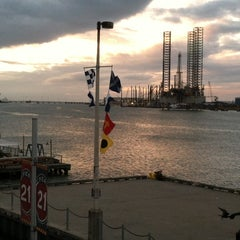 Photo taken at Harbor House Hotel & Marina at Pier 21 by Terry M. on 10/18/2013