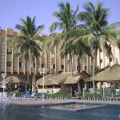 Photo taken at Azalai Hotel Independance Ouagadougou by haike b. on 7/9/2013