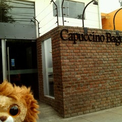 Photo taken at Capuccino Baguette by Gabe on 1/9/2013