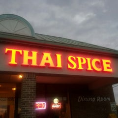 Photo taken at Thai Spice by Benjamin on 10/23/2012