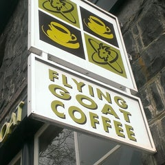 Photo taken at Flying Goat Coffee by jody on 3/30/2013