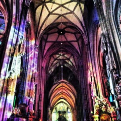 Photo taken at Stephansdom | St. Stephen's Cathedral by Valeria T. on 5/27/2013