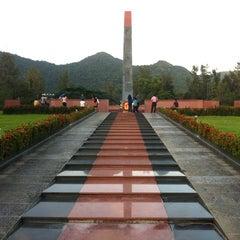 Photo taken at Nghĩa trang Hàng Dương by Pham D. on 10/26/2012
