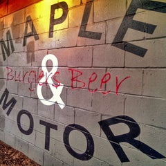 Photo taken at Maple & Motor by Kelly K. on 11/2/2013