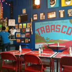 Photo taken at Tacos A Go-Go by Sarah Woo P. on 6/7/2013