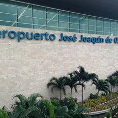 Photo taken at Aeropuerto Internacional José Joaquín de Olmedo (GYE) by Ivan Dario F. on 3/11/2013