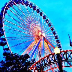 Photo taken at Navy Pier by Brigitte C. on 7/21/2013