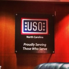 Photo taken at USO Lounge by Sarah S. on 1/7/2014