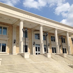 Photo taken at Mary Couts Burnett Library by Tracey H. on 7/21/2014
