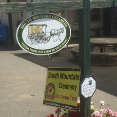 Photo taken at South Mountain Creamery by Brent J. on 7/19/2015