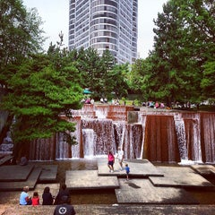 Photo taken at Ira C. Keller Fountain by Phil D. on 7/31/2013