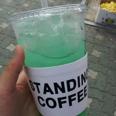 Photo taken at STANDING COFFEE by Hae Mi M. on 10/6/2012
