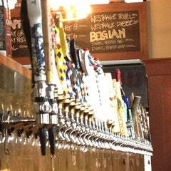 Photo taken at Meadhall by Dominique P. on 2/16/2013