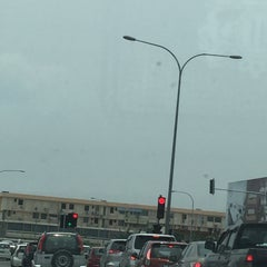 Photo taken at Traffic Light Lido Intersection by Angie on 8/23/2015