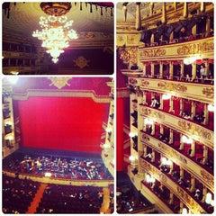 Photo taken at Teatro alla Scala by Natalia M. on 2/19/2013