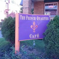 Photo taken at French Quarter Cafe by Tony K. on 9/19/2013