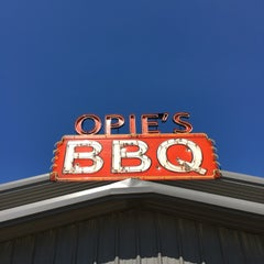 Photo taken at Opie's BBQ by Tim H. on 10/12/2015