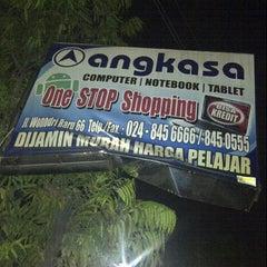 Photo taken at Angkasa Computer by Agung B. on 9/5/2013