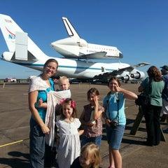 Photo taken at NASA Hangar 990 at EFD by Ryan B. on 9/19/2012