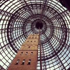 Photo taken at Melbourne Central by Marcela U. on 10/7/2012