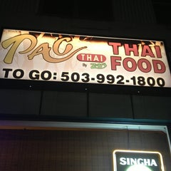 Photo taken at Pac Thai by Crystal B. on 12/31/2012