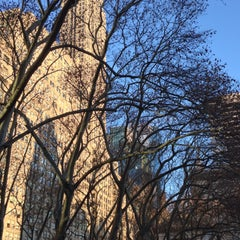 Photo taken at The Reading Room - Bryant Park by David K. on 12/19/2014