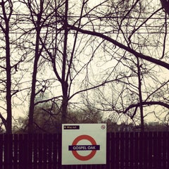 Photo taken at Gospel Oak London Overground Station by Fern M. on 4/10/2013