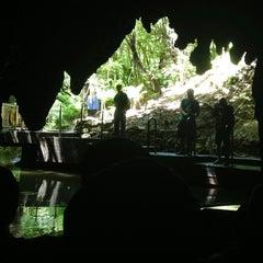 Photo taken at Waitomo Glowworm Caves by Mikhail V. on 1/1/2013