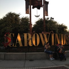 Photo taken at Carowinds by Lissa F. on 9/9/2012