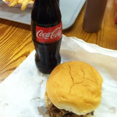 Photo taken at Old Clinton Bar-B-Q by Michelle O. on 11/6/2011