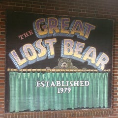 Photo taken at The Great Lost Bear by Eric M. on 8/4/2011